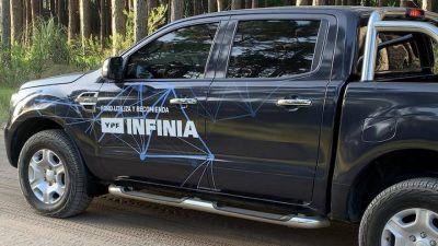 YPF se lució en los médanos de Pinamar como el combustible oficial de la travesía de Ford