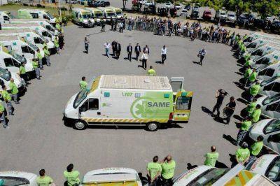 El servicio del SAME ya llega a 90 municipios bonaerenses