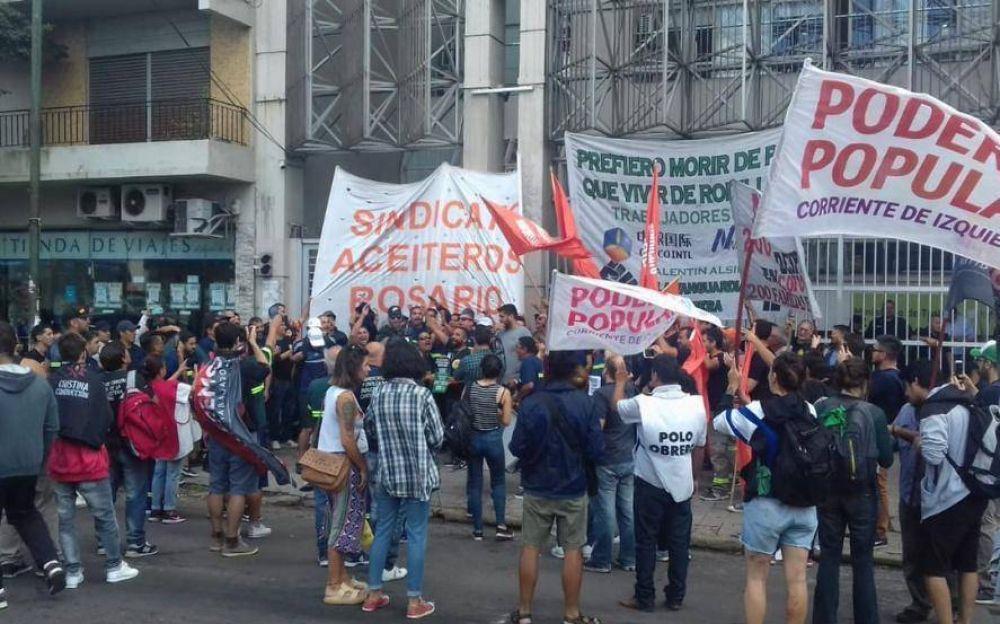 Tras una nueva audiencia, los despedidos de la aceitera Cofco acordaron extender la conciliación obligatoria
