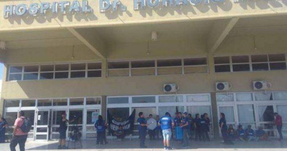 Paro en dos hospitales de Neuquén para reclamar por indemnizaciones