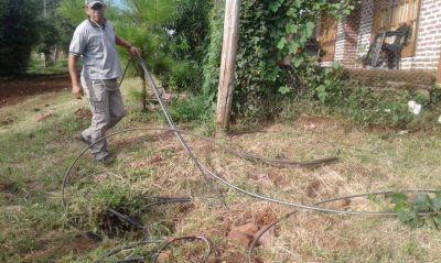 Detectan más conexiones clandestinas a la red de agua potable