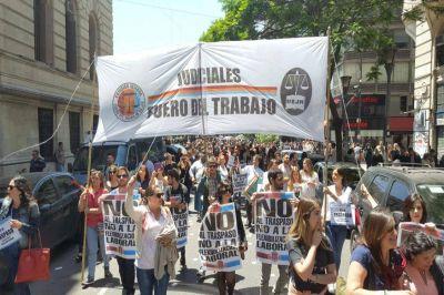 Los Judiciales del Fuero del Trabajo anunciaron un paro nacional de 36 horas el jueves y viernes