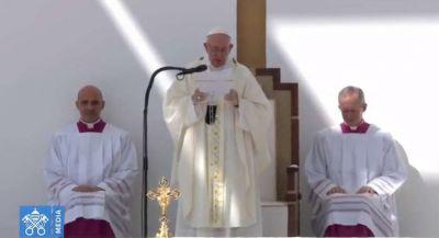 Homilía del Papa Francisco en la Misa celebrada en Abu Dhabi