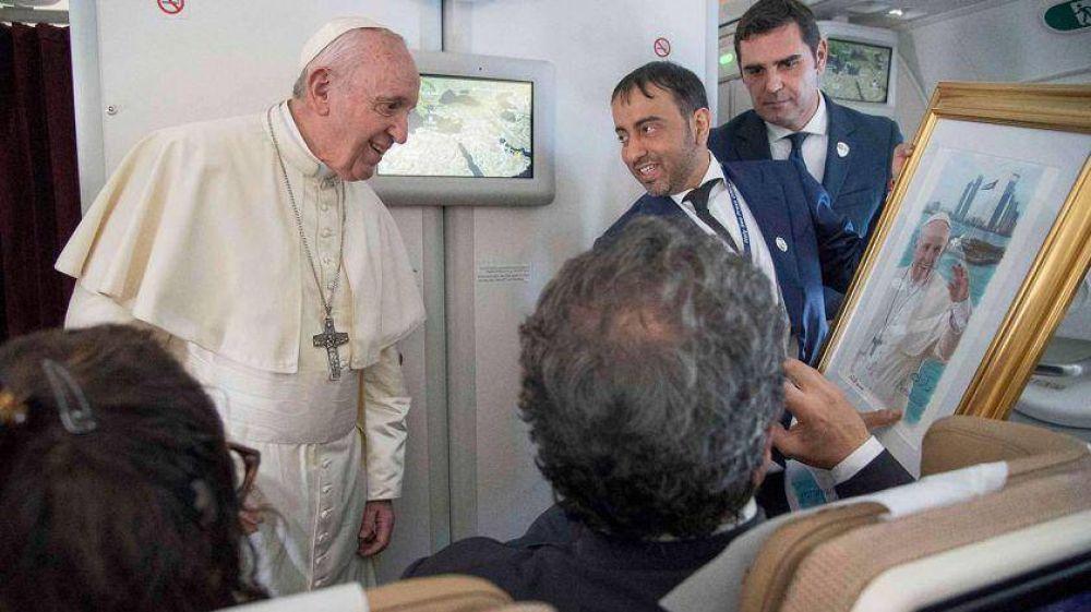 Tras la carta de Maduro, el Papa Francisco dijo que sólo mediará si las dos partes lo piden