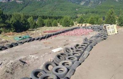 La construcción sustentable de Meliquina quedó abandonada
