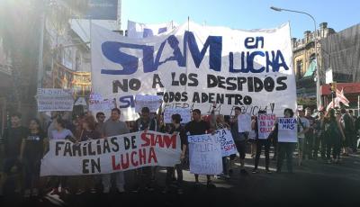 Siam: realizaremos un nuevo corte del Puente Pueyrredón por la reincorporación de los despedidos