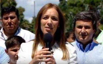 Vidal en La Plata: