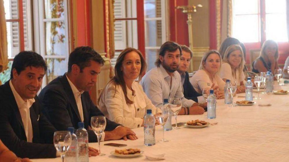 Vidal se reunió con sus diputados y les pidió que se involucren en el conflicto docente