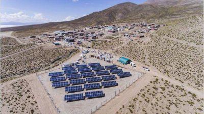 Energías renovables: inauguraron el primer