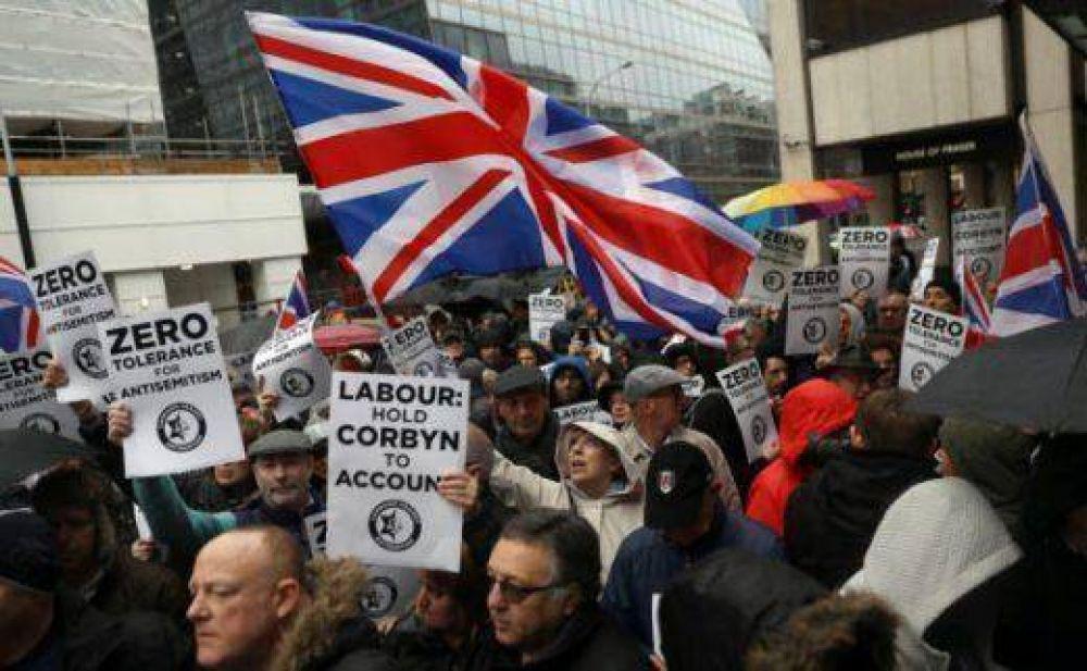 Nuevo récord histórico de antisemitismo en el Reino Unido