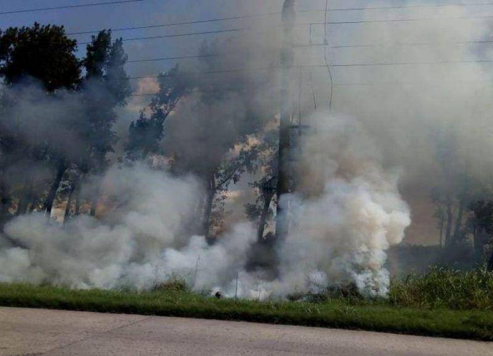 Incendio en la explanta de biodiesel Fox Oil