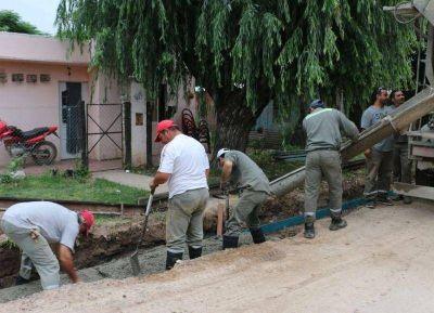 El Municipio ejecuta obras en las cinco localidades
