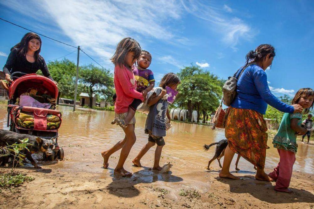 Inauguraciones y reproches: las inundaciones también se cuelan en la pelea electoral