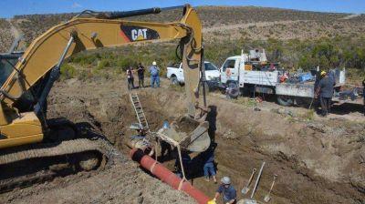 Continúan las obras de saneamiento en el canal Sur