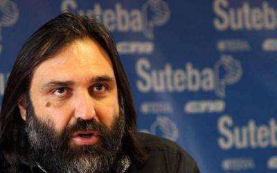 """Baradel dijo que """"si Vidal da la cláusula gatillo, es una discusión en la que se puede llegar a un acuerdo"""
