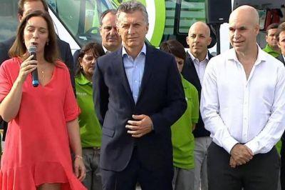 A las 9: Macri, Vidal y Larreta desembarcan en tierra K recorriendo una obra