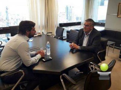Vicente Gatica se reunió con el jefe de gabinete de ministros, Federico Salvai