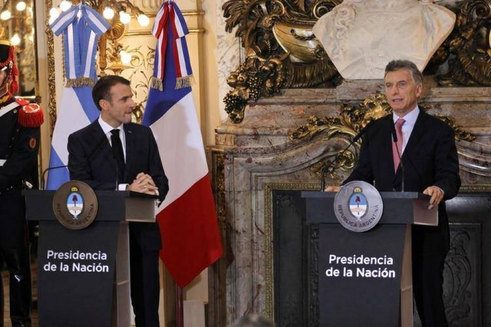 Francia anunciará un plan de inversiones en la Argentina por más de USD 200 millones