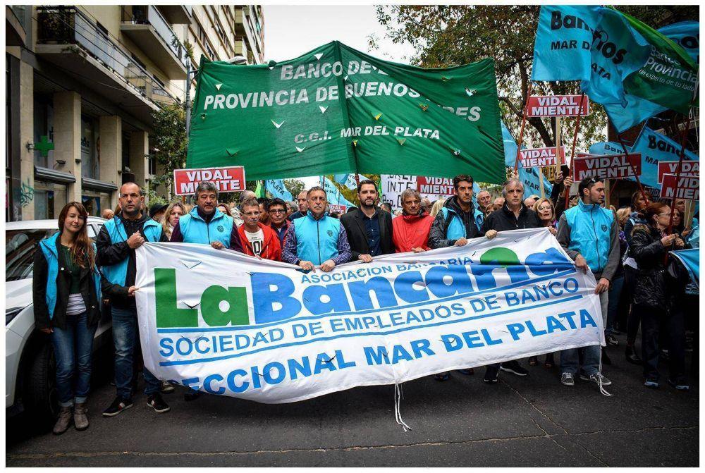 Espacio Bapro: bancarios rechazan nueva modalidad de negocios