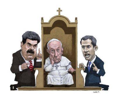 La batalla diplomática: Venezuela, la crisis más incómoda para Francisco