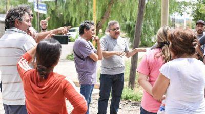 Evalúan la construcción de desagües pluviales en la zona norte de la ciudad
