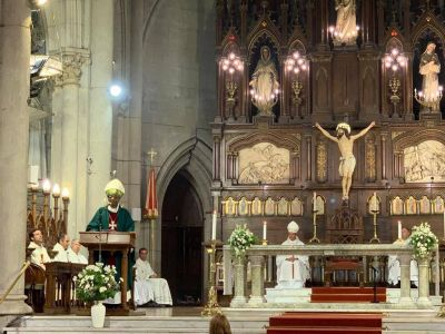 El representante del Papa encabezará la procesión de la virgen de Lourdes