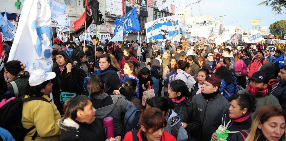 La marcha piquetera del miércoles, por ahora con poco apoyo sindical