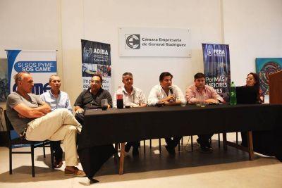 Kubar se reunió con los comerciantes por la tasa de Publicidad