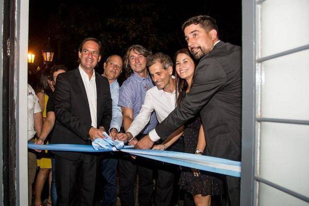 Sujarchuk reinauguró el Museo Campiglia