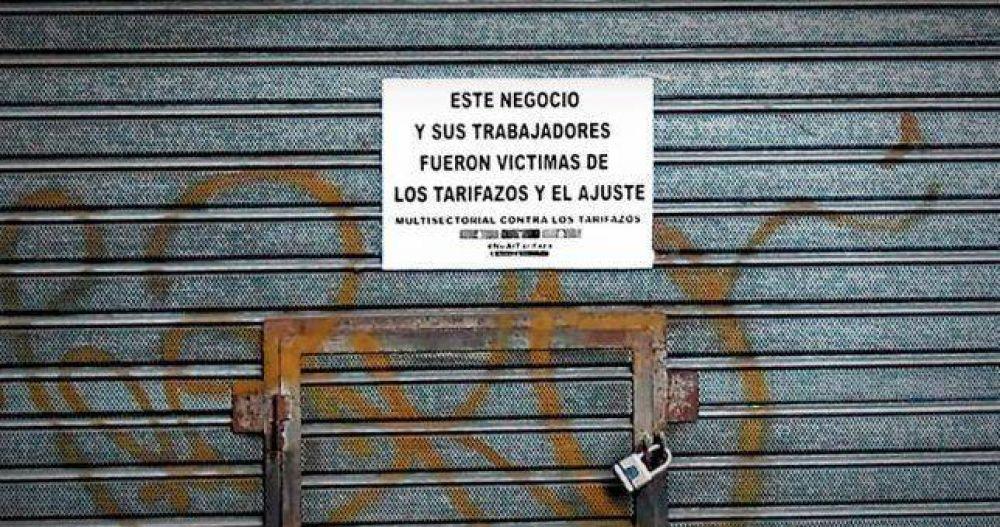 Cierran 82 comercios por día en Ciudad y Gran Buenos Aires