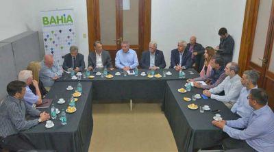El Intendente se reunió con empresarios interesados en el proyecto Vaca Muerta