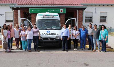 """Bevilacqua: """"Nos llena de alegría seguir incorporando equipamientos a nuestros hospitales"""
