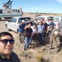 Petroleros Jerárquicos dan continuidad a visitas a sus afiliados en la zona norte santacruceña