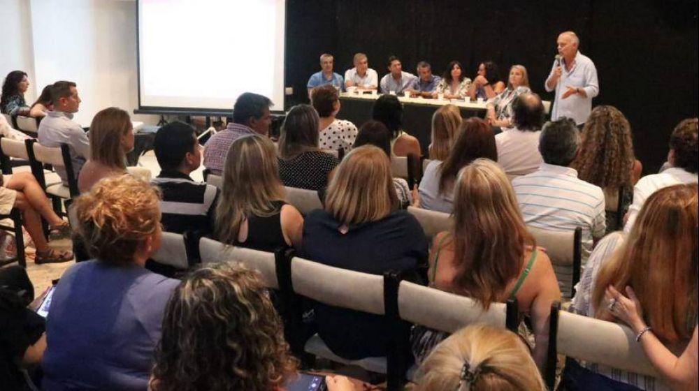 Grindetti abrió la Mesa Distrital de Educación