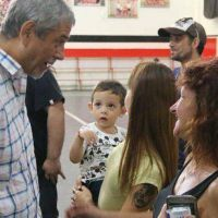 Ferraresi recorre los clubes de barrio de todo Avellaneda