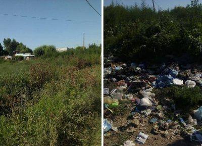 Tierra y basura: Una preocupación cotidiana en La Franja