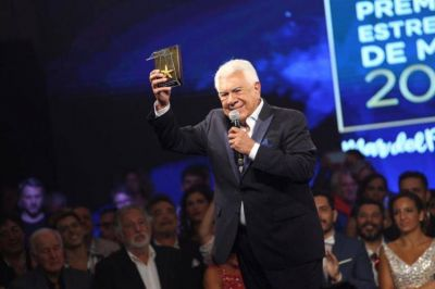 Raúl Lavié se llevó el Premio Estrella de Mar de Oro