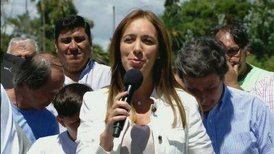 Mientras se prepara para una campaña cortaa, María Eugenia Vidal espera recibir $20.000 millones del gobierno nacional