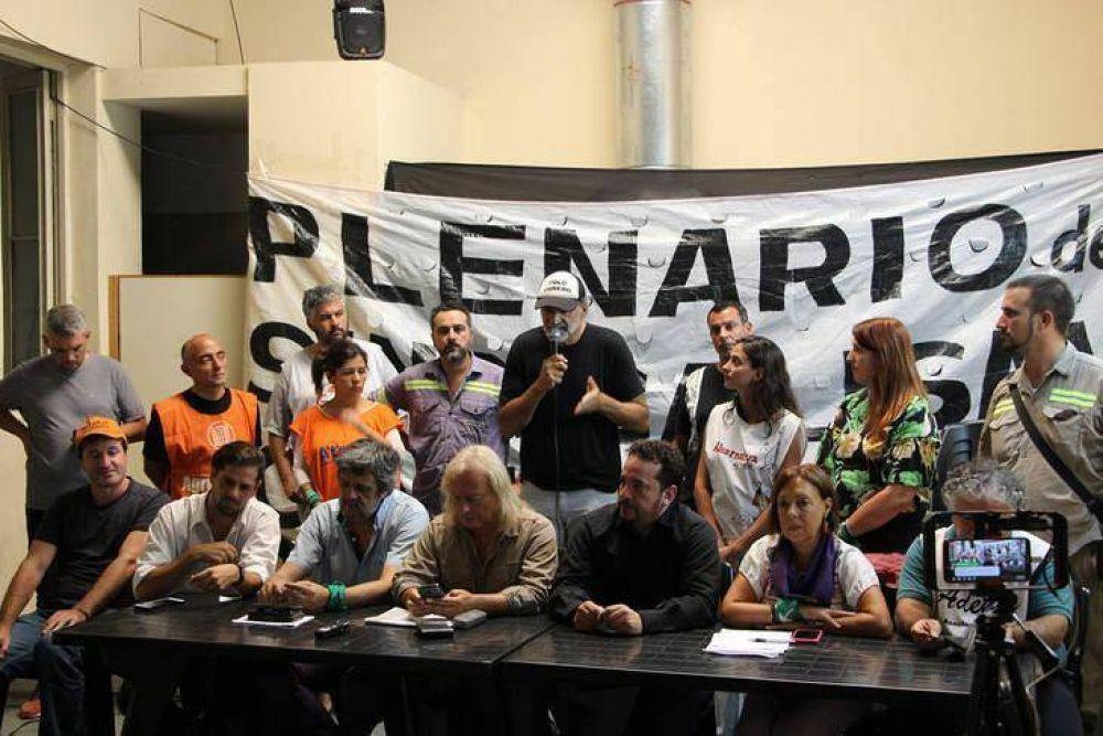 La Corriente Federal y el sindicalismo de izquierda salen a la calle y le meten presión a la CGT