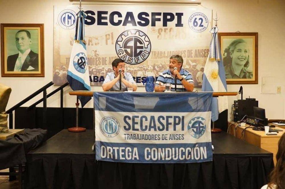 SECASFPI realiza encuentros de formación y Kicillof disertará el jueves