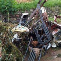 Advierten que por la basura colapsan los desag�es pluviales