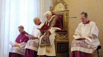Benedicto XVI: la fuerza y la bondad