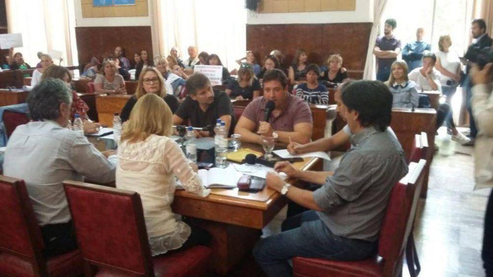 Mourelle volvió a ser el centro de todas las críticas en el Concejo Deliberante