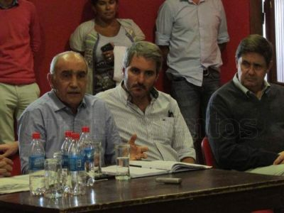 Gonzalo Diez se reunió con el vicegobernador Daniel Salvador de cara a las elecciones 2019