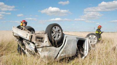 El intendente de Gonzáles Cháves sufrió un accidente en la ruta provincial 75