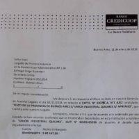 Embargan nuevas cuentas bancarias a la Unión Industrial de Quilmes