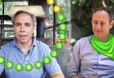 Con ping-pong y pasapalabras, candidatos massistas compiten con videos en las redes