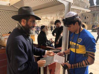 """Jerusalem el Muro de los Lamentos: Un día en el """"palco"""" del lugar más santo del mundo"""