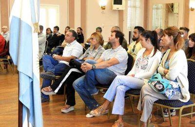 Reunión con profesionales para aclarar dudas sobre el Reglamento de Obras Sanitarias