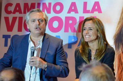 Junto a Alberto Fernández, Tolosa Paz pidió por la